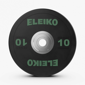 Disco 10kl Eleiko Sport Training Disc Black