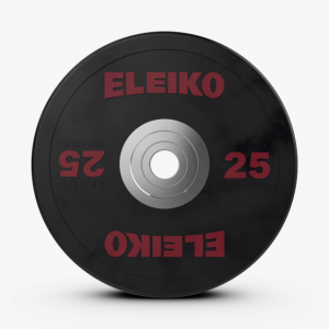 Disco 25kl Eleiko Sport Training Disc Black
