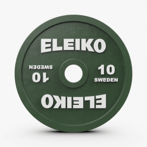 Disco 10kl Eleiko IPF Powerlifting Competition