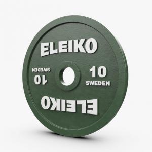Disco 10kl Eleiko IPF Powerlifting Competition