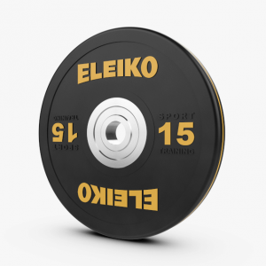 Disco 15kl Eleiko Sport Training Disc Black