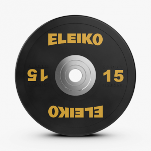 Disco 15kl Eleiko Sport Training Disc Black
